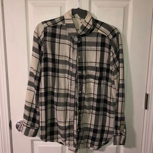 american eagle flannel barely worn